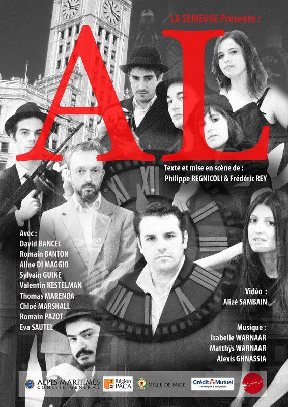 Affiche de Al , création de Thierry Dardanello